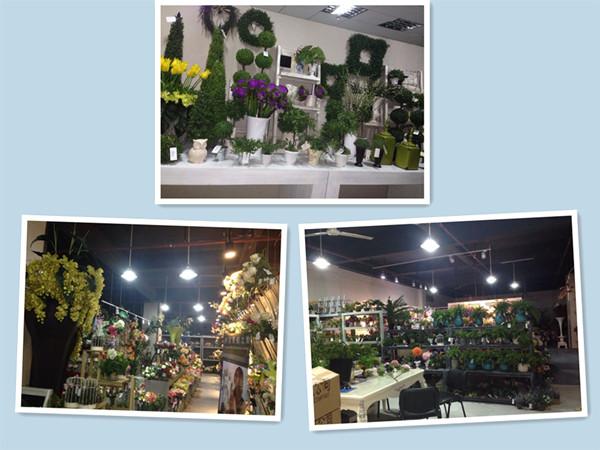 Cheap Wholesale Artificial Chrysanthemum Silk Fabric Plastic