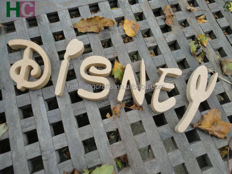 Wholesale Wooden Letters Wooden Alphabet Letters Mdf White