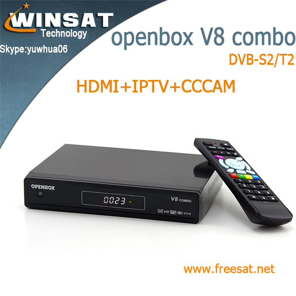top quality V8 combo tiger <strong>satellite</strong> <strong>receiver</strong> DVB-S2/T2 1080p <strong>HD</strong> turbo decoder iptv set top box support free porn video