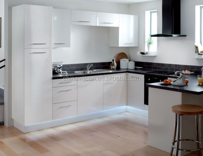 Cheap Hot Sale Top Quality White Lacquer Kitchen Cabinet Doors With Stainless Steel Carcass With Lacquer Cabinet Doors