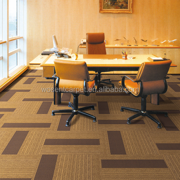 Wholesale Carpet Tiles Office Carpet Tiles Nylon Material Bitumen Backing Carpet Tiles