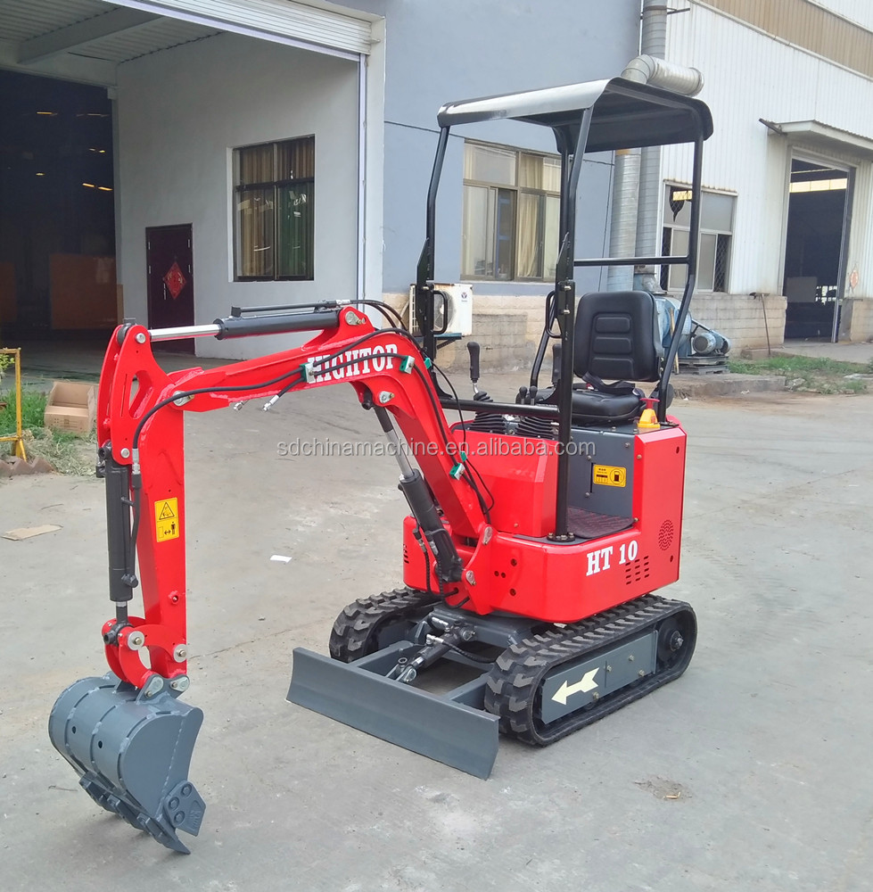 High quality OEM logo Garden excavator 1ton minibagger price with CE Certification