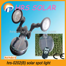 Solar powered led spot light dengan remote controller