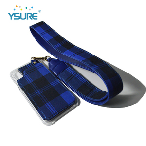 Mirror cell phone case neck strap with back cover phone case
