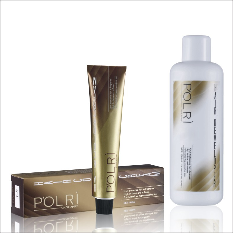 hot sale P'OLRI hair color dye for salon professional