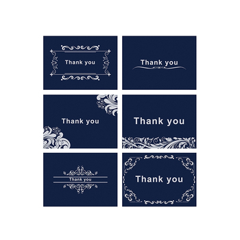 Thank You Card, Inviting Card, Greeting Card Custom With Gold Foil