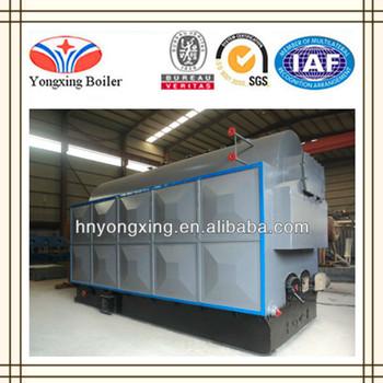 Dzh6-1.25-t Water Tube Wood Fired Steam Boiler/furnace/generator ...