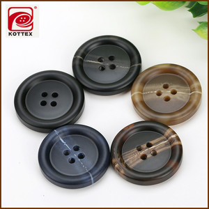Resin Buttons of 4 Holes for Business Man Suit