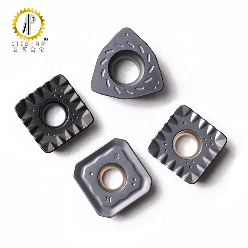 High quality 10P APMT160408PDTR-HM 8115 CNC Carbide Milling insert For steel