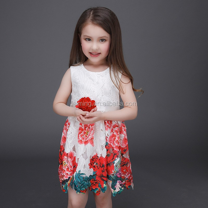 Baby Cotton Frocks Designs 2016 Girl Party Wear Dress Children ...