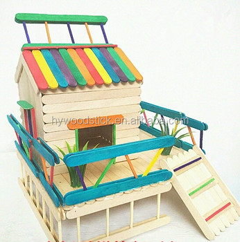 Fit For Children And Adults House Craft Popsicle Stick