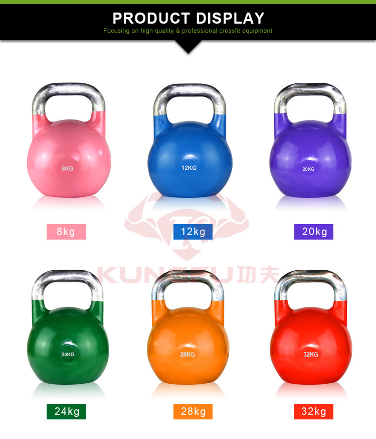 Factory Direct Export Color Steel Competition Kettlebells ...