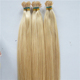 Full cuticle high quality Remy blonde I Tip hair extensions