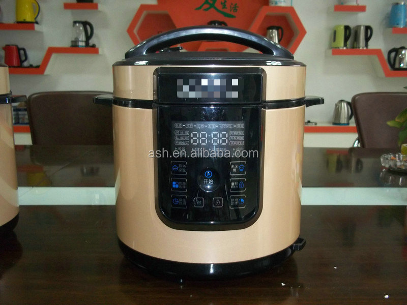 Pressure Cooker With Temperature Control