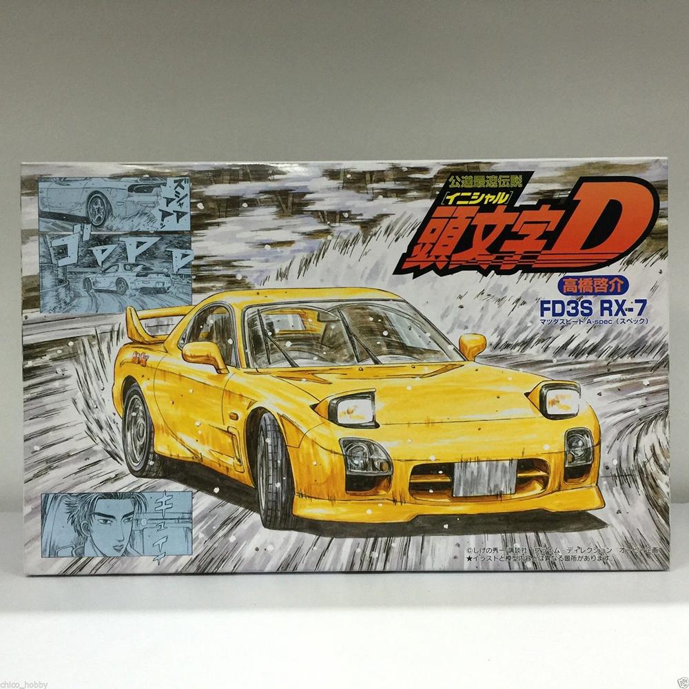 Fujimi 18342# ID-12 1/24 Scale Model Car Kit Initial D 12