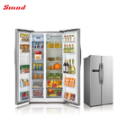Side by side no frost refrigerator with icemaker,water dispenser&mini bar
