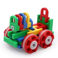 Factory Price Plastic Construction DIY Toy Building Blocks Train Gift Children Educational Toys Stem Toys for Kids