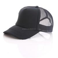 Cheap Customized Design Advertising Promotions Unisex Plain Blank Baseball Mesh Net Foam Trucker cap