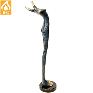 Home Decor China Suppliers Life-size Miniature Bronze Sculpture