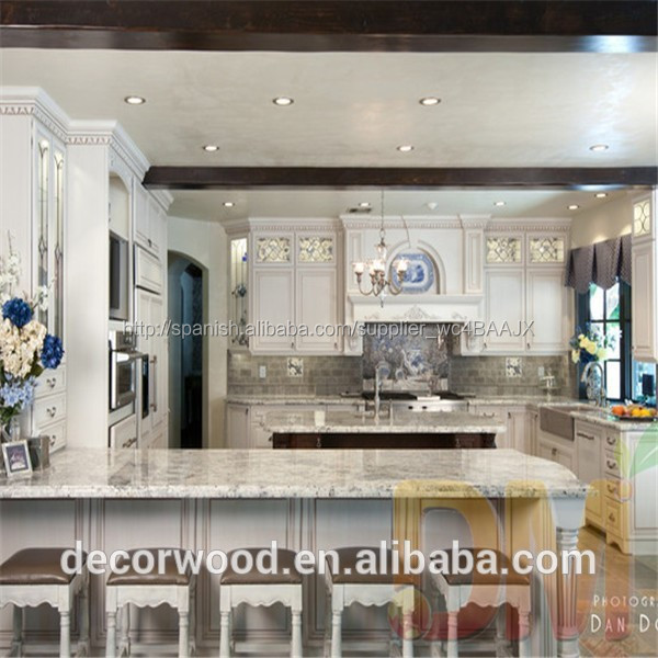 Muebles de cocina de madera maciza estilo europeo f brica for Muebles de cocina de madera maciza catalogo