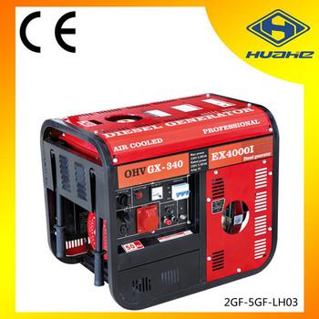 5 kva diesel generator fuel consumption per hour,diesel generator low  consumption, View diesel generator fuel consumption per hour, HUAHE Product