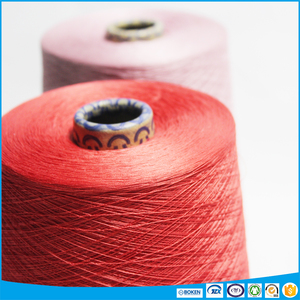 Gassed Mercerized Ne 60/2 100% Combed Cotton Yarn Colored