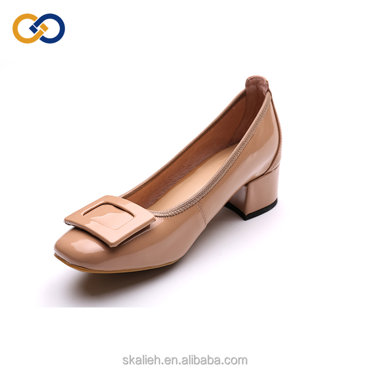 heel leather comfortable shoes women shoes genuine mid OL Wholesale q7w0PFAx