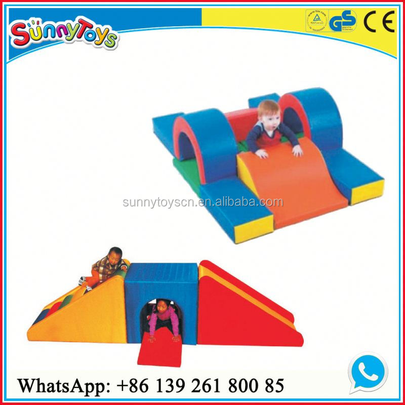 Children indoor playgroun childeren use soft kindergarten covering for basketball court