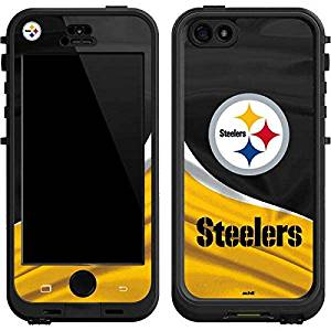 NFL Pittsburgh Steelers Lifeproof Nuud iPhone 5&5s Skin - Pittsburgh Steelers Vinyl Decal Skin For Your Lifeproof Nuud iPhone 5&5s