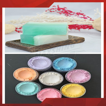 Cosmetic Pearl Colorful Mica Pigment For Diy Homemade Soap Dye - Buy ...