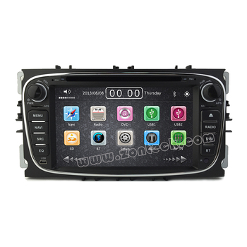 Zonteck 7 Inch ZK-7200F for Ford Galaxy Mondeo 3G Autoradio GPS