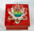 MH-L006 elegant holiday decoration rainbow crystal lotus candle holdfer