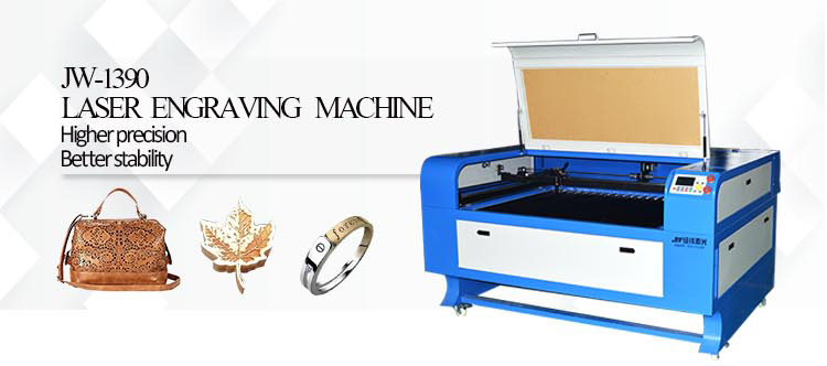jingwei 1390 80w 100w130w150w laser cut cutting engraving machine for shoes cup acrylic letters