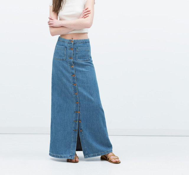 Cheap Long Maxi Denim Skirts, find Long Maxi Denim Skirts deals on ...