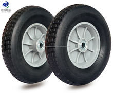 260x85 rubber wheel barrow solid rubber tire