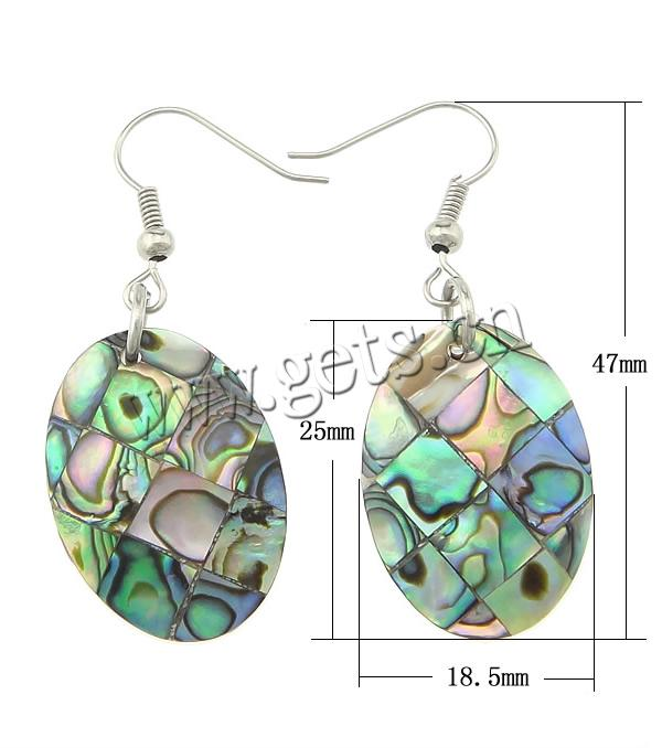 2015 wholesale sterling abalone mexico earrings