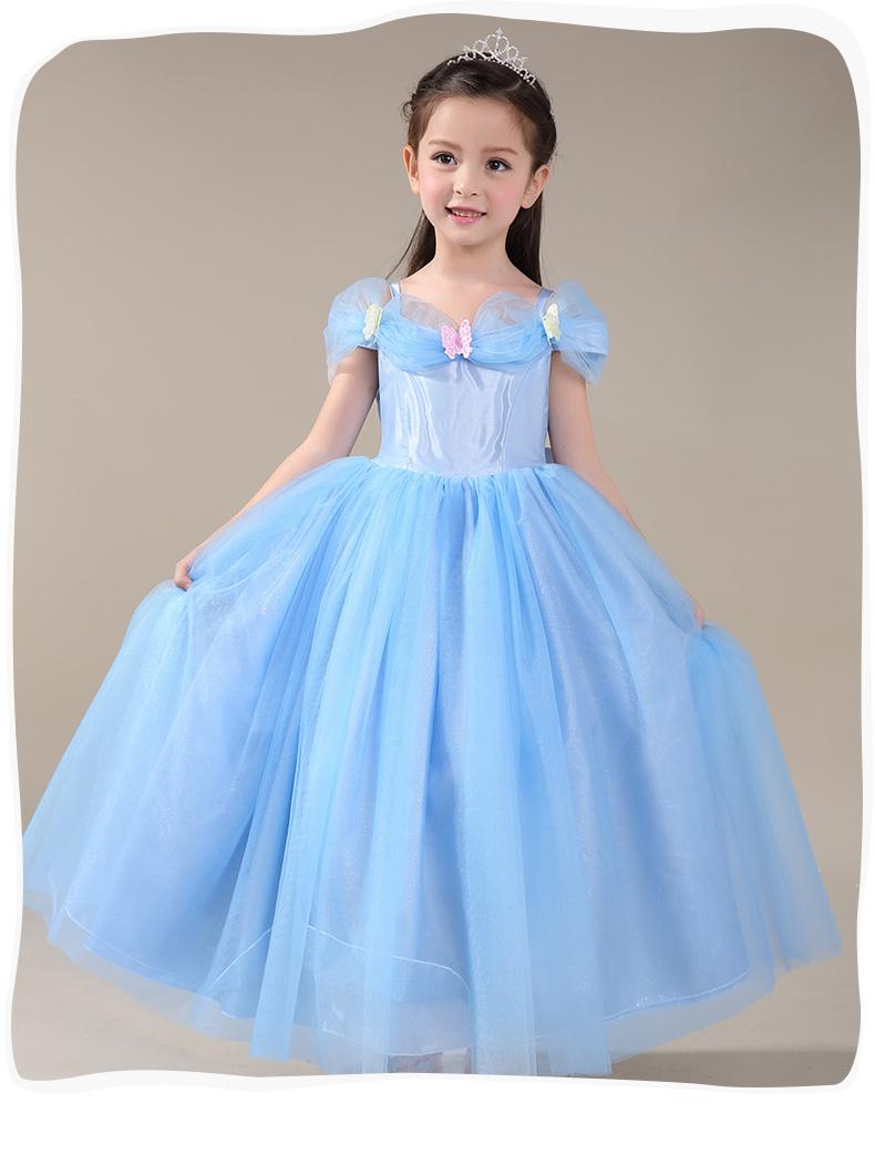 cinderella dress for kids - photo #33