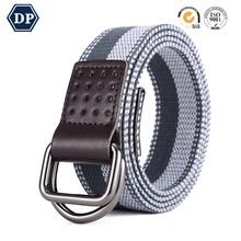 712e371df5e Canvas Web Belt Men Double D-ring Buckle 1 1 2 Inch Extra Long