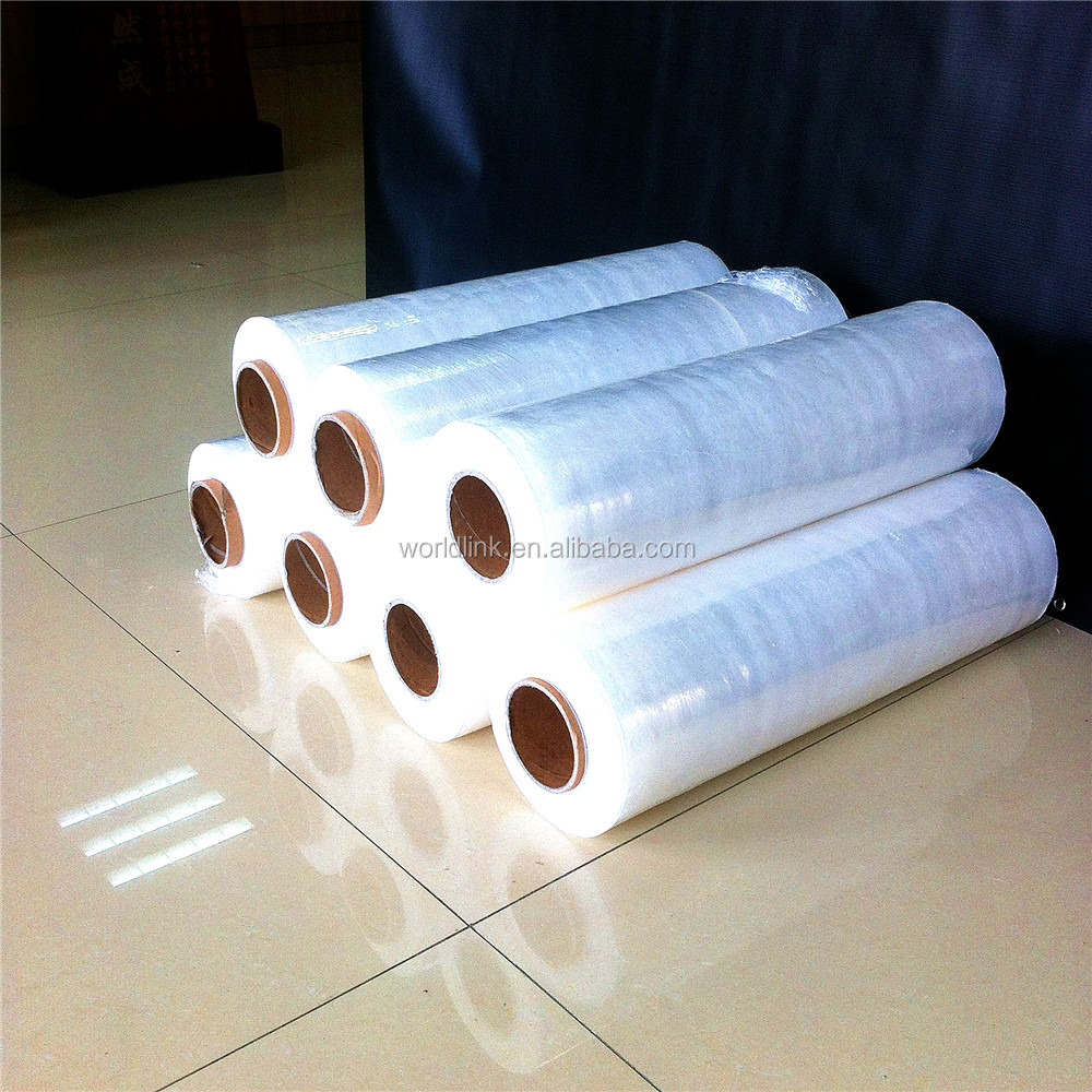 Hand and Machine Grade Packaging PE Shrink Wrap Film