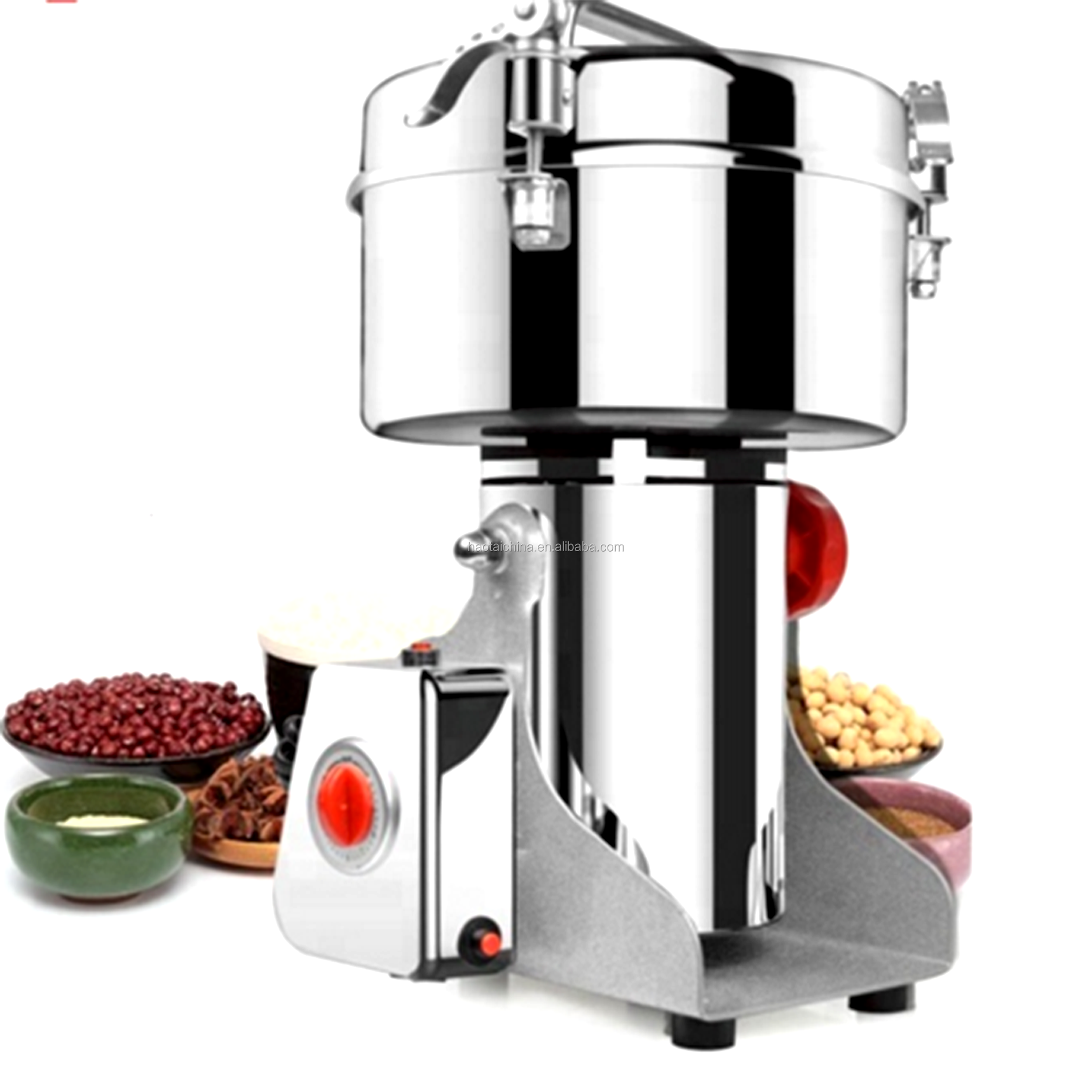 2000g Small Home Use Electric Swing Seeds Grinding Machine Mini Nuts Beans Grinder