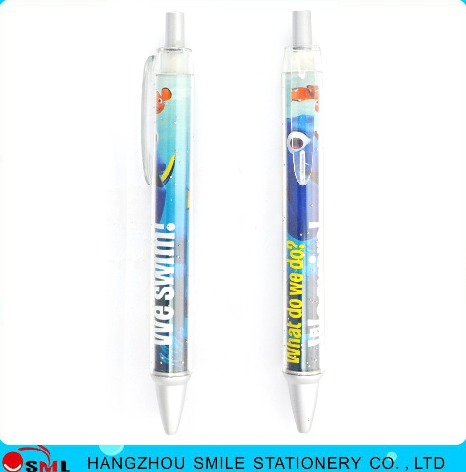 Heat transfer printing customized plastic pen with propylene material