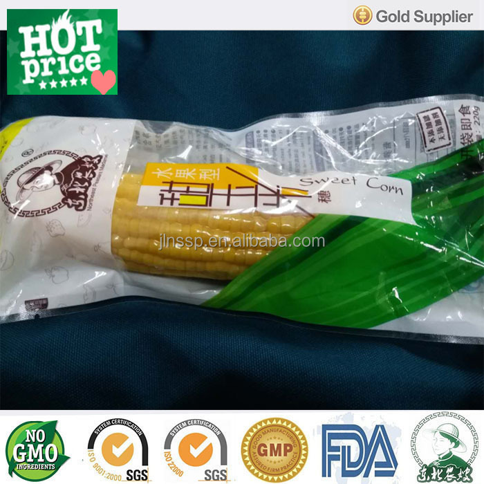 Vacuum Packed Fresh Super Sweet <strong>Corn</strong> on the Cob 24pcs/Carton