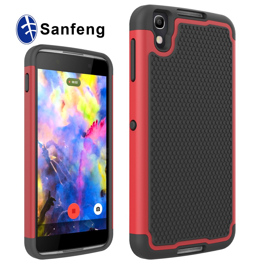 mesh rugged hard cell phone case for BlackBerry DTEK 50