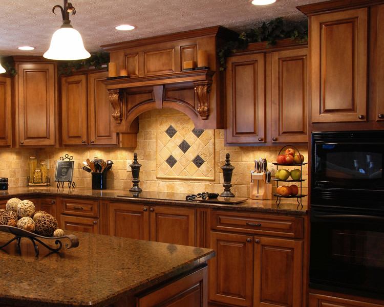 Modern Oak Solid Wood Kitchen Cabinet Nice Design Wooden Kitchen ...