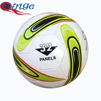 Size 5 PVC football Machine sewing soccer ball Factory directly sale 5colors
