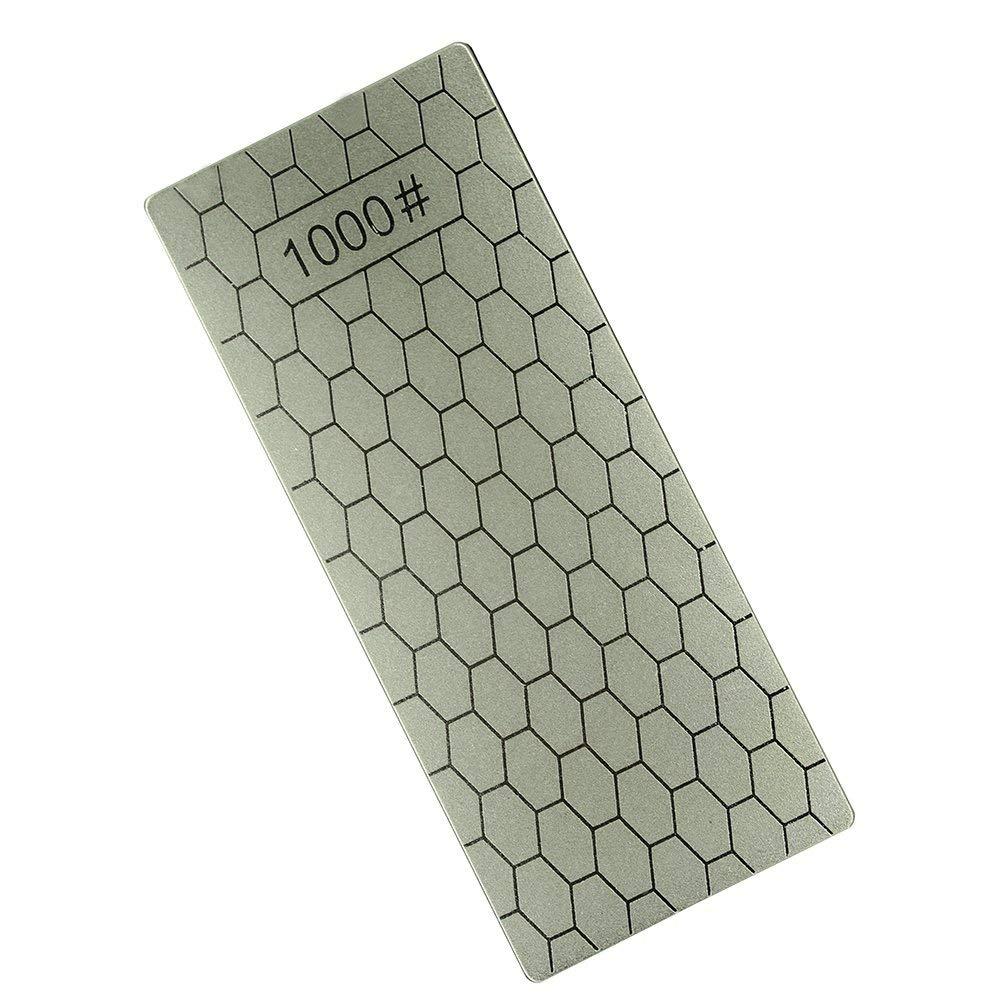 Funnytoday365 Professional Kitchen Sharpener Stone Diamond Whetstones 1000#