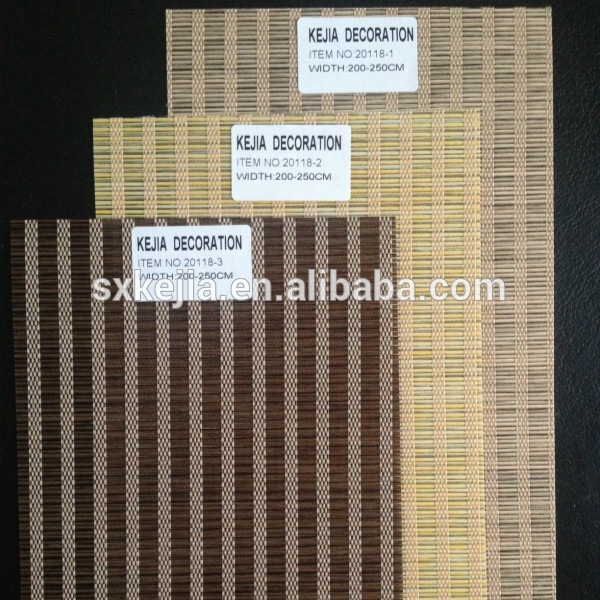 100% polyester jute looking for roller blinds and vertical blinds