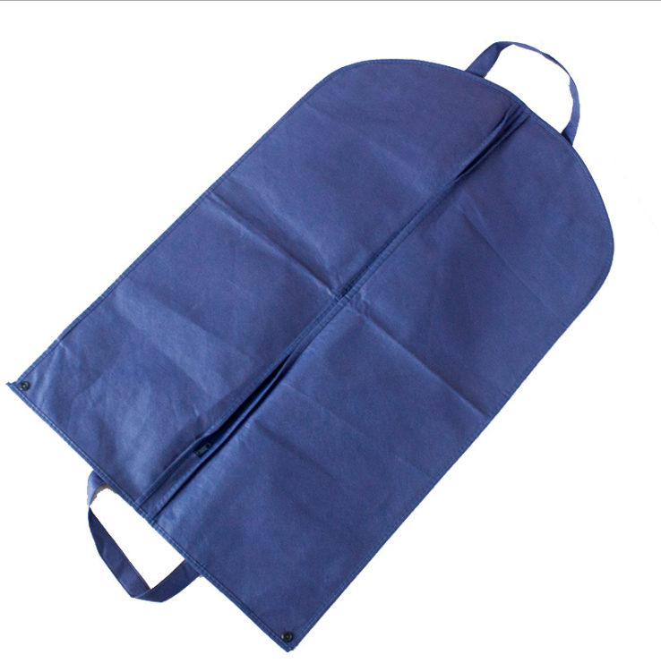Manufactory High Quality Zip Lock Non Woven Fabric Garment Packaging Bag