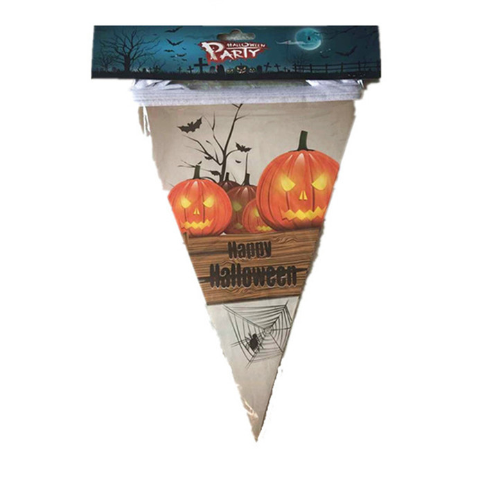 Wholesale Top Quality Halloweens Bunting Flags Pennant Garland Banner