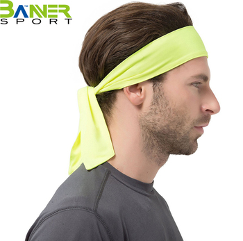 Sport Headband Men Women Head Sweat Band Run Football Tennis Headscarf  Sweatband HairBand 6f1abff8c5